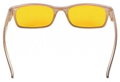 Blue Light Shield Computer Glasses 0.0 Magnification Lightweight Comfortable