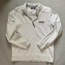 Vineyard Vines Gray 1/4 Zip Pullover Long Sleeve Sweatshirt Child Size X... - $29.67