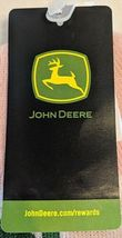 John Deere LP47339 Acrylic Pink Green And White Cuffed Beanie image 7