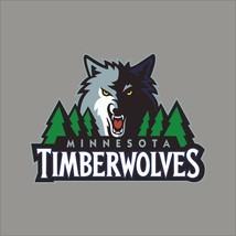 Minnesota Timberwolves #2 NBA Team Logo Vinyl Decal Sticker Car Window Wall - $6.28+