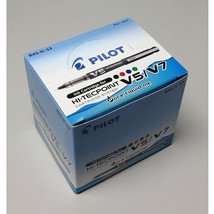 Pilot BXS-IC-S3 Hi-Tecpoint V5/V7 Ink Cartridge (12pcs) - Blue Ink - $16.02