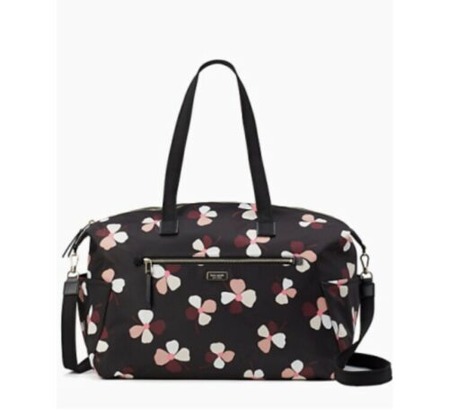Primary image for Kate Spade Weekender Dawn Travel Bag Dusk Bud Nylon $329