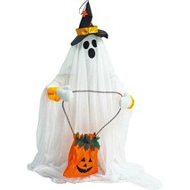 27 in. Touch Activated Animatronic Ghost - $86.09