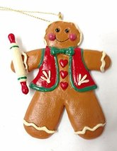 Gingerbread Kid Ornament (Boy) - $10.00
