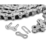 50-1 Roller Chain For Sprocket 100 Feet With 2 Connecting Links Drive - $269.99
