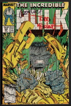 Incredible Hulk #343 SIGNED Peter David AND Todd McFarlane Comic Cover & Art - £39.86 GBP