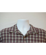 American Eagle Heavy Short-Sleeve Button-Front Shirt, Excellent, Large 1013 - $12.74