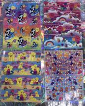 *Pick1Sheet* VINTAGE Lisa Frank Full Complete Sticker Sheets Still Glossy Crisp