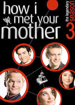 How I Met Your Mother - Season 3 (DVD, 2008, 3-Disc Set) - €10,65 EUR