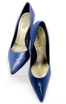 Ladies BCBG Royal Blue Closed Toe High Heel Pump Size 8 Career Dressy - $24.69