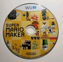 Super Mario Maker (Nintendo Wii U, 2015) Disc Only, Tested and Working  - $13.54