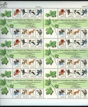 Canadian International Philatelic Exhibition 48 x 13c Stamp Sheet Scott ... - $11.48