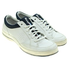 KEDS One Stripe Womens White Leather Classic Sneakers Size 7M - €17,11 EUR