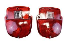 A-Team Performance Tail Lights Compatible with 1953 1954 1955 1956 Ford Pickup T image 2