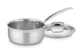 Cuisinart MCP19-16N MultiClad Pro Stainless Steel 1-1/2-Quart Saucepan w... - $32.00