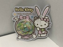 Hello Kitty Happy Easter Bath Confetti - New in Package - $9.74