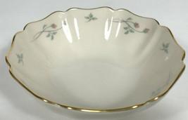 Lenox Rose Manor small bowl scalloped rim Trinket Ring Jewelry Dish Bowl... - $27.96