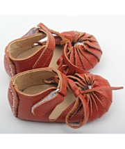 Trendy Girls Shoes Brown Leather Mary Jane's w/a Twist MSRP $30.00 SAVE $5 - $25.00