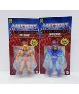 Mattel 2020 Walmart Masters of the Universe He-Man + Skeletor Retro Play... - $51.43