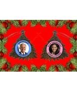 President Joe Biden and Vice President Kamala Harris Pretty Christmas Or... - $5.28
