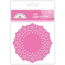 "MINI Paper Doilies.  75 Pack. 3""  Choose Color. Doodlebug Designs image 3"