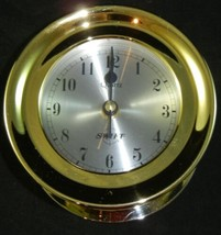 Swift Clock Maritime Capstan Clock Model 424 in Box Nautical NEW NOS w Box - $75.00