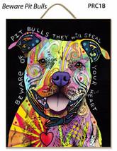 Dean Russo Placas Beware Pitbull Brooklyn Basado en Regalo Perfecto Comp... - $25.66 CAD