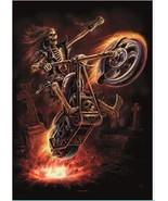 Anne Stokes Poster Flag Hellrider - $12.99