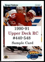 1990-91 Upper Deck RC | #440-548 | Hockey | Pick Player/Rookie from Menu... - $0.61 - $2.44