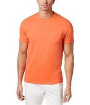 Club Room Men's Crew Neck Chest Pocket T Shirt Orange Sz. XX-Large - £8.96 GBP