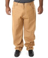 Beyond the limit wheat big and tall denim jeans - $29.99