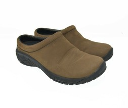 Merrell Air Cushion Women's Sz 7 EU 37.5 Brown Suede Leather Slip On Com... - $39.99