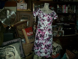 J EAN Paul Gaultier For Target Lovely Floral Print Dress Size Xs - $20.79