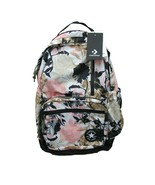 Converse Chuck Taylor Black Barely Rose Pink Floral GO Backpack School B... - $44.50