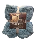Large Warm Thick Sherpa Throw Blanket Coverlet Reversible Fuzzy Microfiber - $54.99