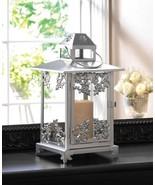 SILVER SCROLLWORK Candle Lantern - $24.89