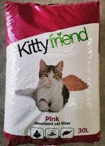 Sanicat Pink Cat Litter 30ltr - Free UPS Next Day Delivery To UK Mainlan... - $23.98