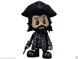 POTC IV Cosbabies - Blackbeard Hot Toys Figure Pirates Brand New Rare Co... - $19.79