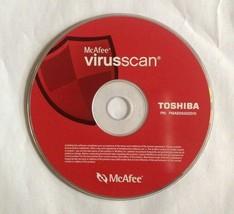 McAfee VirusScan Virus scan Deluxe - For Windows 98/95 CD Toshiba  - $9.89