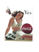 Coca-Cola  Tin Sign Bathing Beauty Yes- BRAND NEW - $13.61