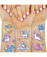 xo, Fetti Unicorn + Dragon Temporary Tattoos for Kids - 28 styles   Boys... - $9.59