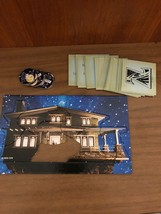 Zathura Board Game Puzzle House Replacement Parts Pieces 6 Tokens Cards 2015 S18 - $8.99