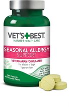 Vets Best Seasonal Allergy Support for all dogs  - 60 Chewable Tablets - $16.99