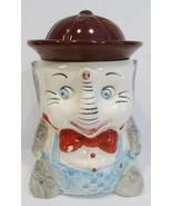 antique elephant cookie jar - $60.00