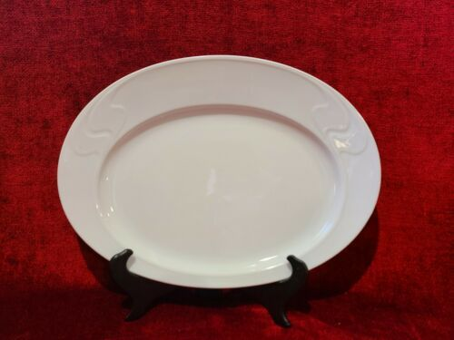 "Primary image for Rosenthal Asymmetria White 15 1/4"" Serving Platter"