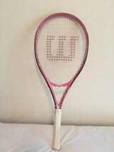 Wilson Hope 41/8 L1 Pink Tennis Racquet Racket Breast Cancer Awareness  - $14.85