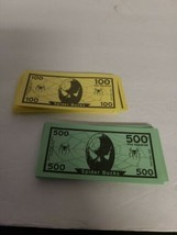 Spider-Man Operation Skill Game Replacement Parts - Paper Money 100 & 50... - $5.00