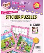 Rina & Dina LITTLE HANDS STICKER PUZZLES ~NEW~ - $6.39