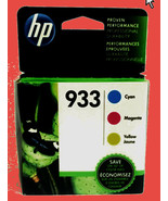 GENUINE HP INK cartridge 933 Tri Color combo pack exp 7/2021 - $25.00