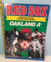 1988 American League Championship Series Oakland A's vs Boston Red Sox P... - $14.85
